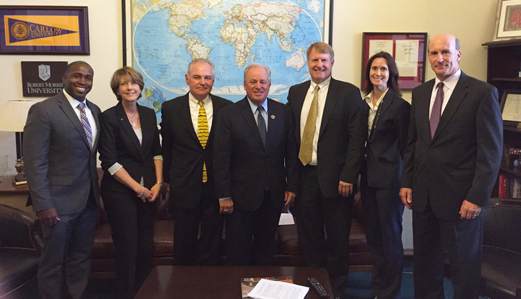 A Pittsburgh region delegation led by the GPCC met with U.S. Congressman Mike Doyle to advocate for regional improvements.