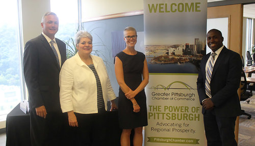 The GPCC hosted Pennsylvania Labor & Industry Secretary Kathy Manderino for a roundtable discussion on ways to advance workforce development initiatives in the Pittsburgh region and across the state.